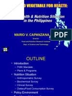 Nutrition Situation Philippines