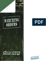 Sudden Strike - Manual - PC