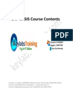 1.Keylabs Taining SAP BASIS Course Contents
