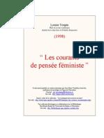 Courants de Pensée Féministe
