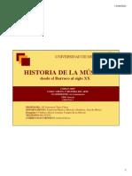 Presentación Historia de La Música II 11_12