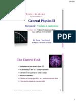 General Physics II-4electric Field