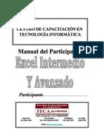 Excel Intermedio y Avanzado ITCA