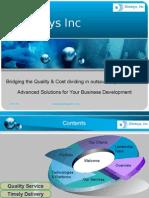 Deemsys Inc Portfolio
