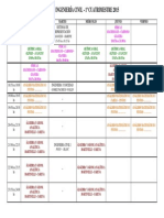 Horario Ing Civil 1er Cuatrim 2015