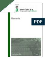 Memoria Bcca 2013