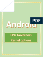 ANdroid CPU Governors SG S2
