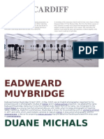 Cardiff/Muybridge/Michals Artist Research