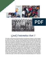 Greek Fraternities Part 5