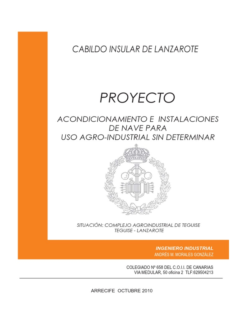 proyecto nave agroindustrial