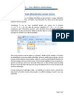 Resolution Equation Excel