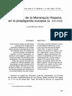 Imagen Monarquía Hispana  (Edad Moderna)