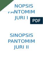 Sinopsis Pantomim