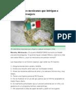 35 Costumbres Mexicanas Que Intrigan a Cualquier Extranjero