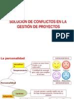 Solucion de Conflictos en Gestion de Proyectos