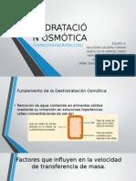 DESHIDRATACIÓN OSMÓTICA