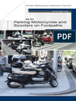 Guidelines Parking Motorcycles Scooters