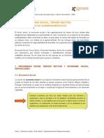 TEMA 1.Economia Social Tercer Sector Organizaciones No Gubernamentales
