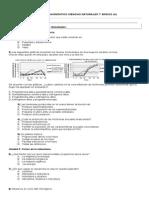 Diagnostico  de Ciencias Naturales 7º 2015