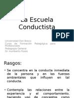 La Escuela Conductista