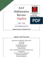 SATReview Algebra