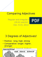 Lessons 6164 Adjectives 2014