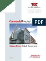 CGP Commercial Catalog for Windows & Doors Grids