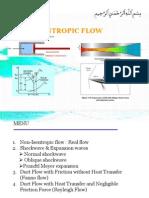 Non Isentropic Flow 1