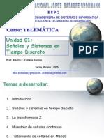 Tema01 Señales&Sistemas Tiempo Discreto 2015