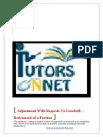 Adjustmentwithregardstogoodwill Retirementofapartner Accouting 130902034607 Phpapp02