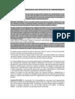 Atributos de La Personalidad Que Influyen en El Comportamiento Organizacional