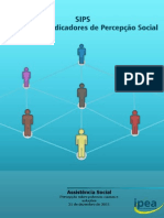 SIPS - Sistema de Indicadores de Percepção Social