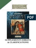 WAB2 Supplements Errata