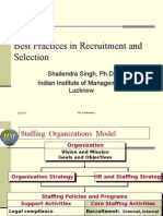 Best Practices in Recruitment and Selection