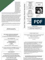 St Felix Catholic Parish Newsletter - 3rd Week in Ordinary Time 2010