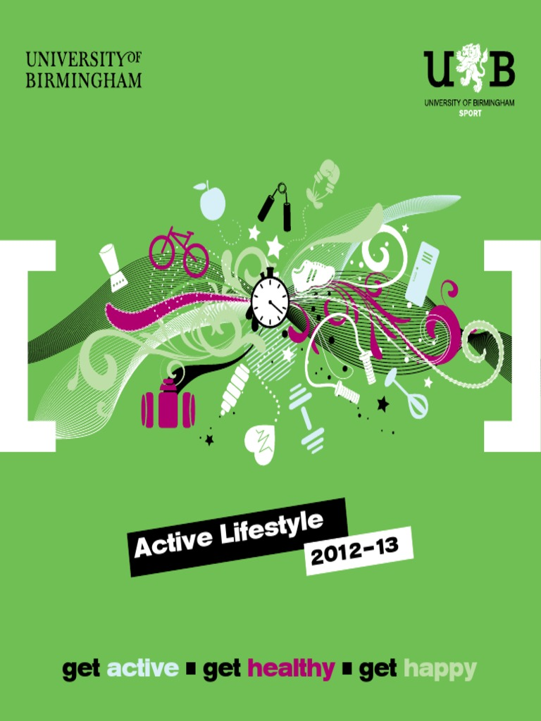 16pp.info_7050 Active LIfestyles Brochure 16pp AW   Physical Fitness   Aerobic Exercise