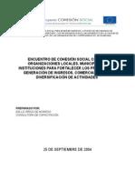 Propuesta Para El Encuentro Para El Fortalecimiento Cohesal- 25 de Septiembre