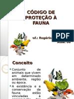Código de Proteção à Fauna