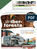 Invitacion a la Feria Forestal de IBERFORESTA en Plasencia 2015