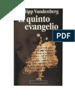 Vandenberg, Philipp - El Quinto Evangelio