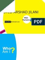 Syed Arshad Jilani Visual Resume