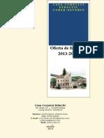 Oferta de Formare Ccd Cs 2013-2014 Td