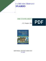 Diccionario Bíblico Mundo Hispano N-Z
