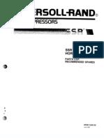 Lista de Partes Compresora Ir Ssr 50