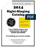 Masterworks Catalog sightreading