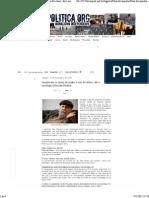 Folha Política_ 'Assustaram Os Donos Do Poder, e Isso Foi Ótimo', Diz o Sociólogo Chico de Oliveira