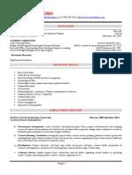 draft resume
