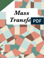 Mass Transfer ES 3002