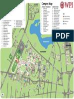 WPI Campus Map