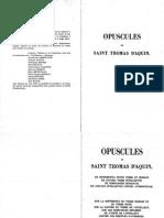 Opscules de Saint Thomas D'Aquin 3.pdf